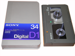 Sony D1 Digital Video Cassette